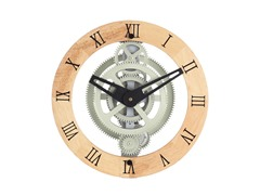 Gear Wall Clock - Gear Style 888 Wooden Dial Ring