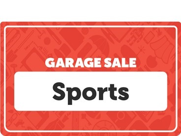 Sports & Outdoors Garage Sale