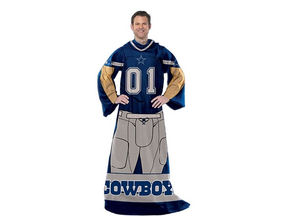 Dallas Cowboys Player Comfy Throw