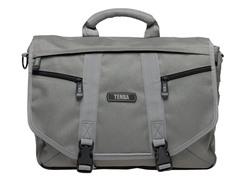 Large Messenger Bag - Platinum