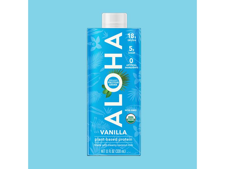 Organic Vanilla Protein Drink, 12 Pack