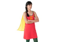 Robin Sleep Tank with Cape
