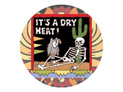 Dry Heat Coasters- Set of 4