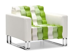 ZUO Ripple Chair White & Green
