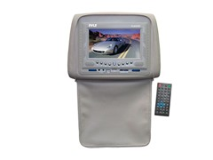 "7"" DVD Headrest Monitor - Tan"