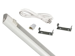 24-Inch LED Tracks with Switch, White