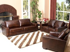 Bradford Leather 3-Pc Set