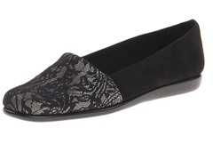 Aerosoles Mr Softee Slip-On, Black Metal