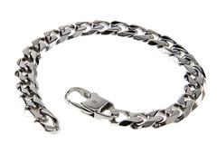 Stainless Steel Cuban Link Bracelet