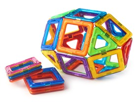 Magformers 26-Piece Rainbow Set