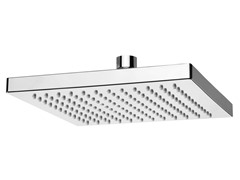 Oasis 8-Inch Square Chrome Rain Shower Head