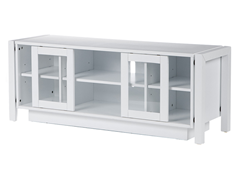SEI White TV Stand/ Media Console