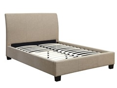 Brunswick Linen Platform Bed (2-Sizes)