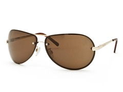 Gold/Brown Aviator 20 Sunglasses