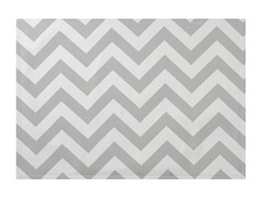 Chevron Placemat S/4-Gray