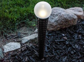 LampLust Set 2 Solar Globe Torch Light