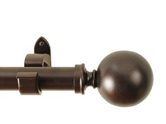 "18""- 48"" Ball Curtain Rod"