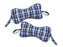 Original Bones Flannel NeckBone Pillow-S/2
