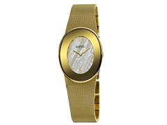 August Steiner AS8053YG Women's Oval Watch - Gold