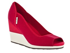 Teva Women's Mush Promenade Wedge - Red