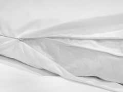 235TC Double Layer Fabric Baffle Box Feather Bed- Multiple Sizes