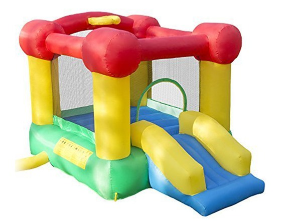 Inflatable Castle Bounce Houses Castle Bounce House With Slide And Hoop WT141140A