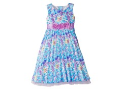 1-Piece Woven Ruffled Dress (4-6X)