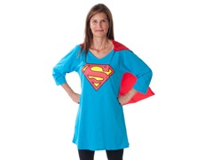Supergirl Dorm Shirt with Cape (S or M)