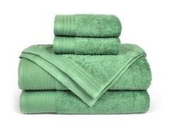 6-Piece Supima Cotton Towel Set-Jade