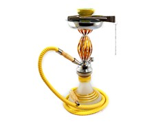 "Chrome Titan Jewel 14"" Hookah"