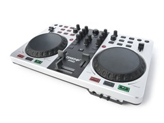 Adv USB/MIDI DJ Controller w/ Soundcard