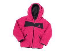 Fuchsia Reversible Sherpa Jacket