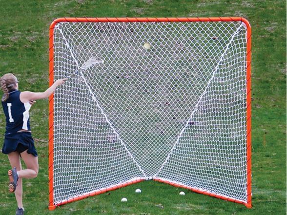 Ezgoal Folding 6 X6 Steel Lacrosse Goal