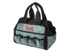 12-Inch Tool Bag w/ Tray, Black and Gray
