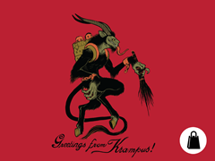 Greetings from Krampus! Tote