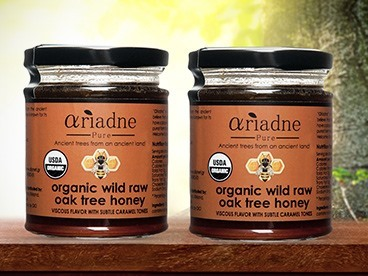 Ariadne Pure Organic Oak Tree Honey
