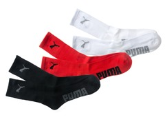 Sorbtek Crew, Red/White/Black 3pk