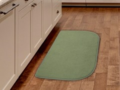 Light Green Kitchen Retreat Mat