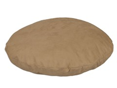 "Tan Simply Soft 35"" Round Pet Bed"