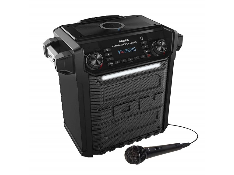 Pathfinder Charger Outdoor BT Speaker w/ Qi Charger