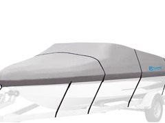 "Hurricane Boat Cover, 19' L x 102"" W"