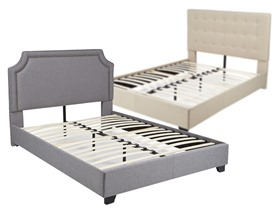 Mantua Platform Bed - Your Choice