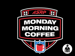 Monday Morning Coffee Jersey Zip Hoodie