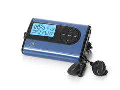 GPX 2GB MP3 Player - Blue