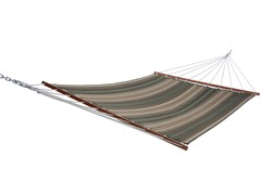 Quilted Acrylic Hammock, Cannon Stripe