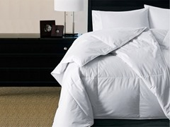 Level VI Bafflebox White Goose Down Comforter-2 Sizes