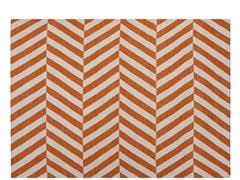 Maroc Salma Flat Weave - Orange
