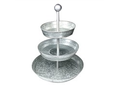 Galvanized 3 Tier Cake Stand/Server