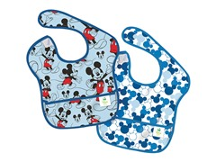 Mickey Icon SuperBib 2-Pk