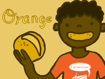 Orange You Glad I'm Back!